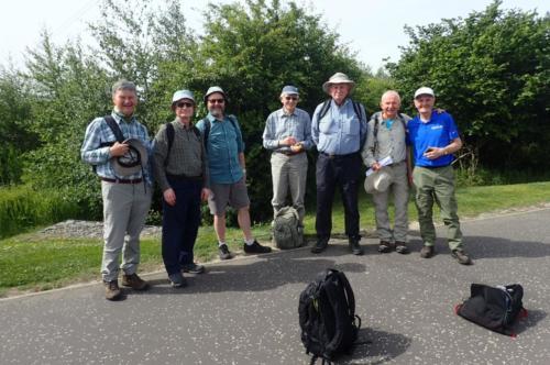 A thoroughly enjoyable walk - thanks again to the estimable Iain Sime!